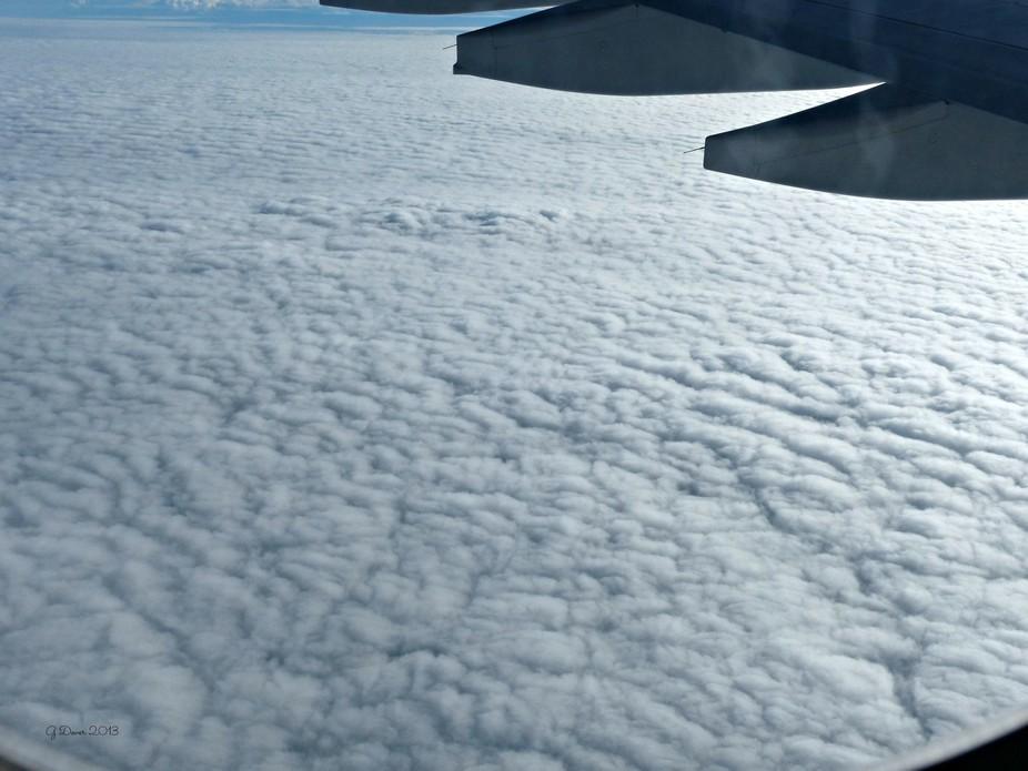 taken on an Etihad flight over Australia