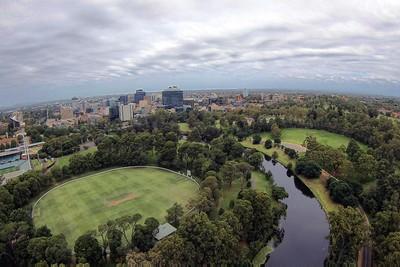 Over Parramatta Park