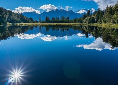 Blue View - Lake Matheson