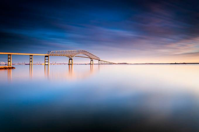 key bridge 2014 by dKi_Photography - Long Exposure Experiments Photo Contest