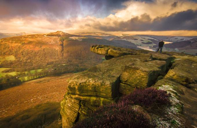 Bamford Edge by andrewgibson - Standing At The Edge Photo Contest