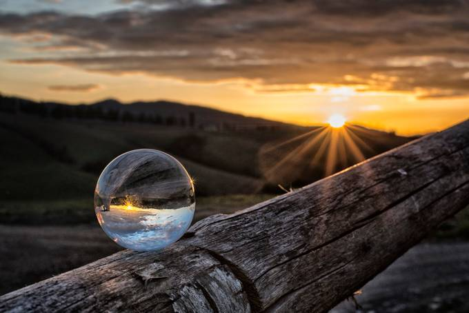 Reflections of a sunset by elenapardini - Circle Games Photo Contest