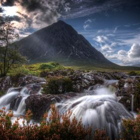 Buachaille EtiveMor, generally known to climbers simply as The Buachaille, is a mountain at the head of Glen Etive in the Highlands of Scotland.