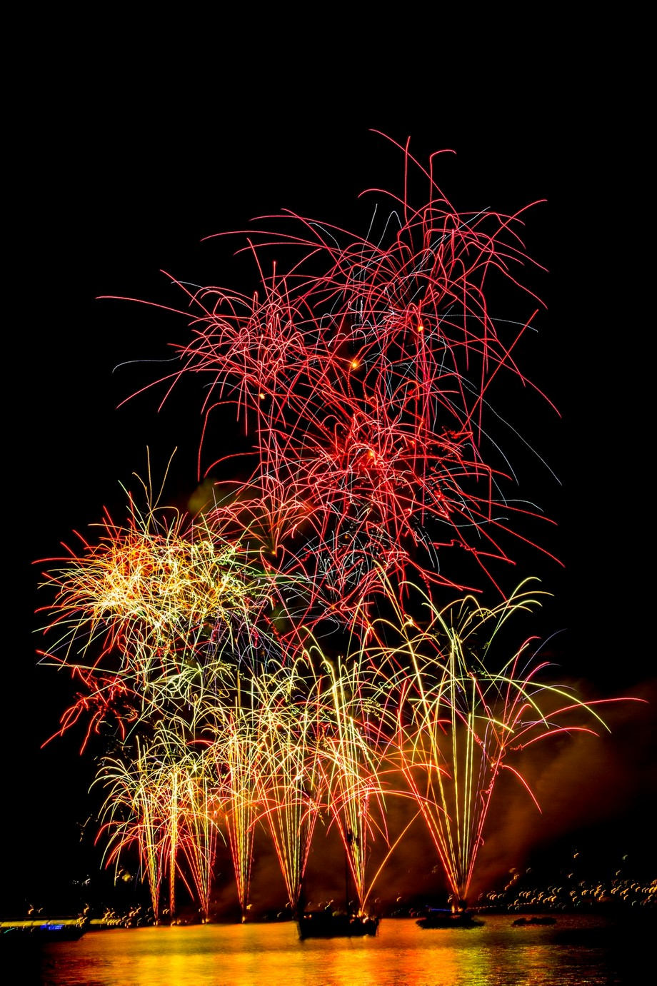 Australia Day Fireworks! by PNPhotography - Dark And Bright Photo Contest