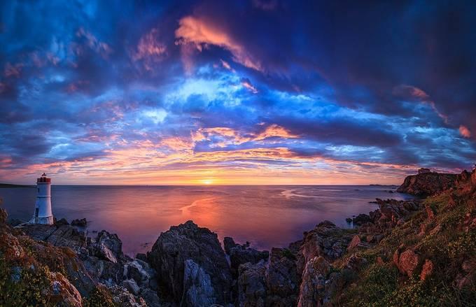 Fiery Sunrise by Mauro_Mendula - The Zen Moment Photo Contest