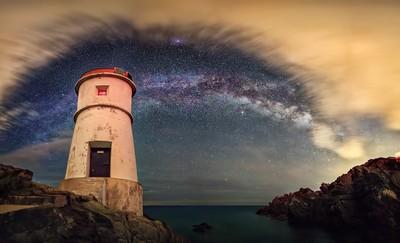 Milky Way Under Siege