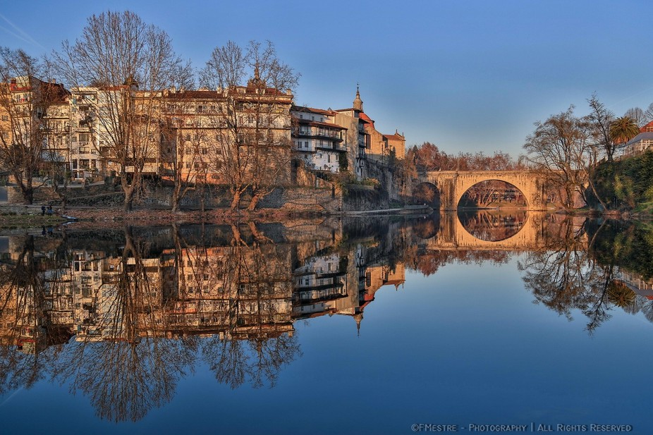 Tâmega River - Amarante - Portugal  (Canon 5D MkIII. 17-40 mm zoom @24 mm. f/4,5. 1/320sec. IS...
