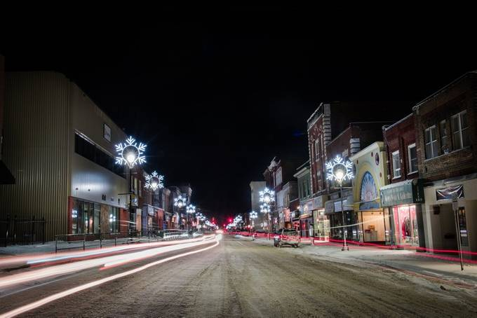 Small City Lights by Joscelin - Holiday Lights Photo Contest 2017