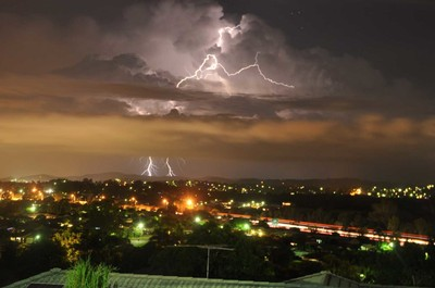 Storm Season in Tanah Merah, Qld