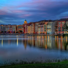 Portofino was painstakingly copied for hotel in Orlando, FLorida