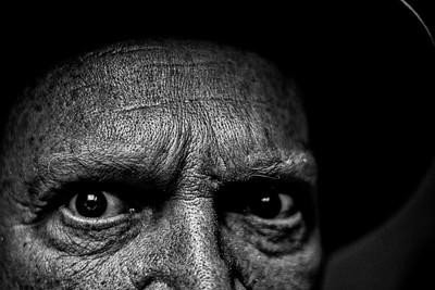 Darkened Eyes