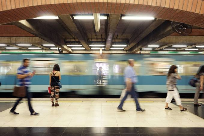 A station in Chile 2. by jessymay - Public Transport Hubs Photo Contest