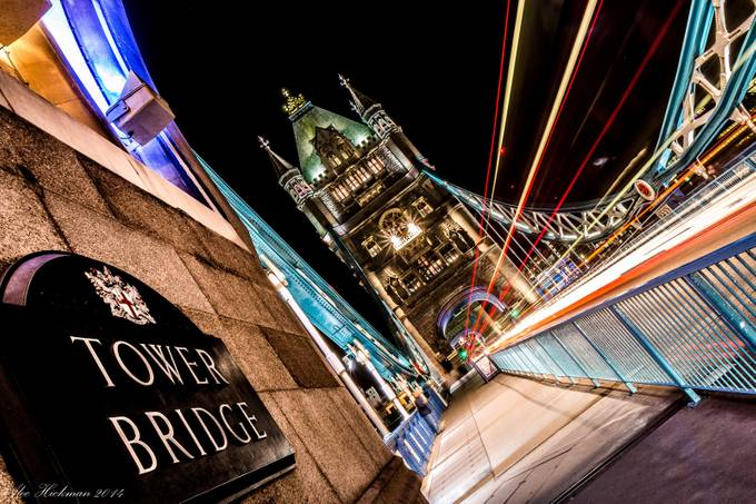 Tower Bridge in lights by alechickman - Night Wonders Photo Contest