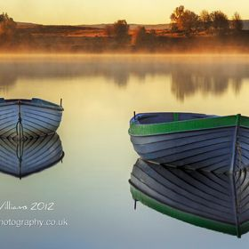 A touch of early morning mist at Loch Rusky in the Scottish Trossachs.  HDR - 3 images @ ±2EV, processed with Photomatix and Photoshop CS5