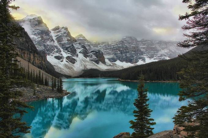 Moraine Lake by colleone2 - Monthly Pro Vol 27 Photo Contest