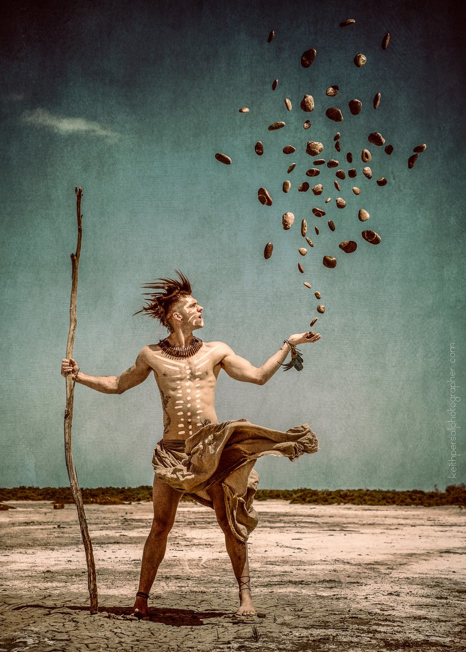Tro Tribal by KeithPer - The Magic Of Editing Photo Contest