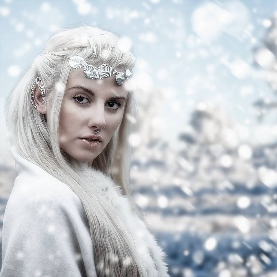 Snow queen by Mikepearce20 - Creative Reality Photo Contest