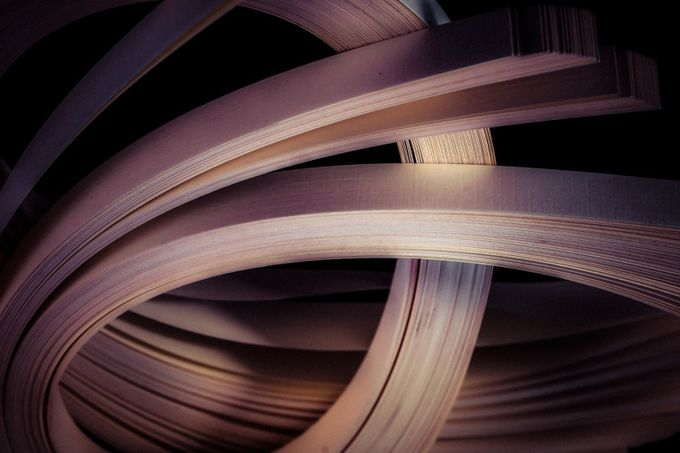 Paper, Colors & Light by UnkleFrank - Twisted Lines Photo Contest