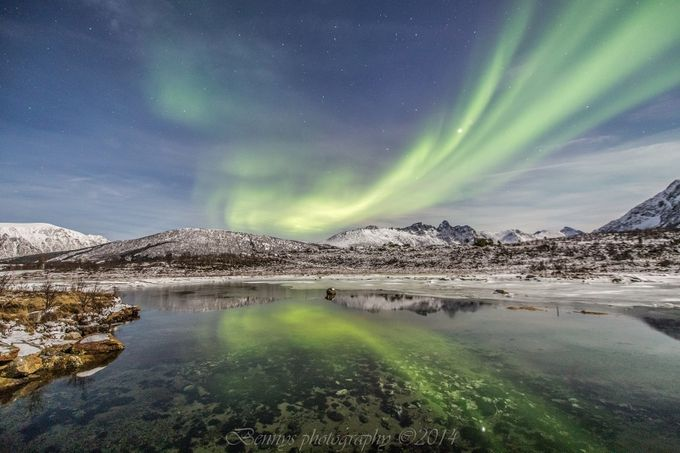Aurora borealis by bennyhynes - Visuals of Life Photo Contest