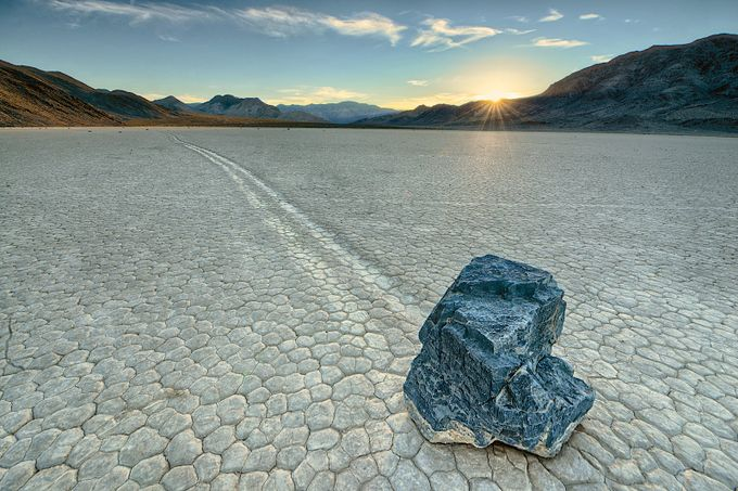 Sliding Rock of Racetrack Playa by lakevermilionphotos - Subjects On The Ground Photo Contest