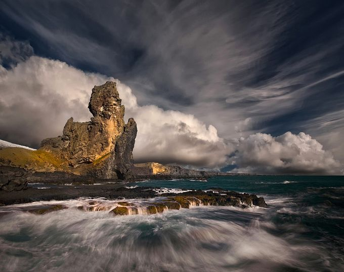 Rocky Beach  by Structor - Spectacular Cliffs Photo Contest
