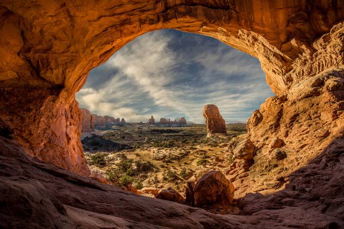 Inside-Double-Arch by phillip_brossette - Your Point Of View Photo Contest