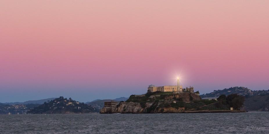 Alcatraz Searchlight