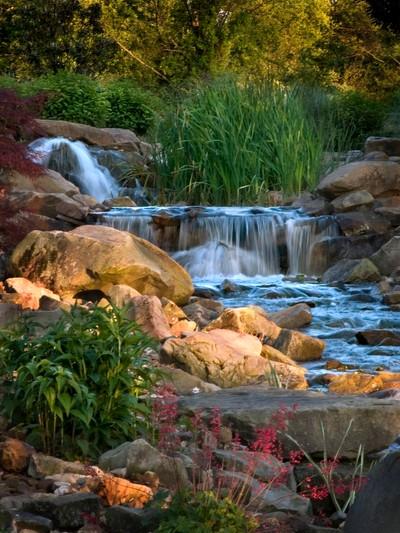 waterfall diagonal