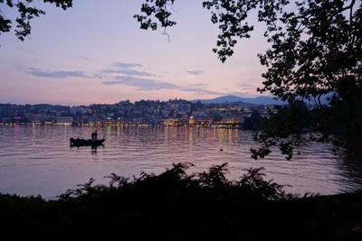 Fishing Lake Lugano
