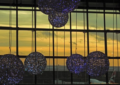 One Early Morning at the Heathrow Airport