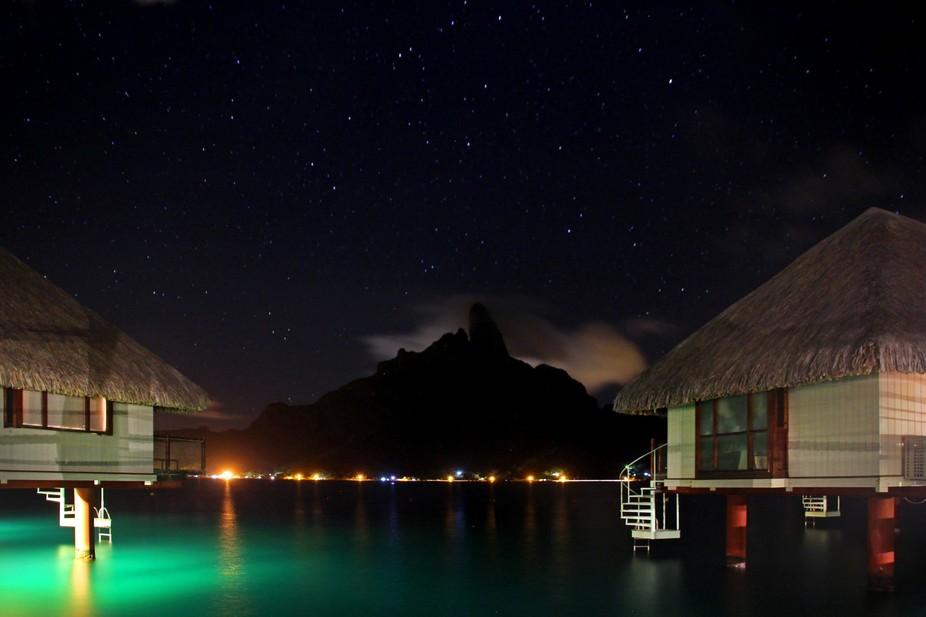 Bora Bora Nightfall