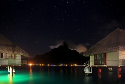 Bora Bora Nightfall
