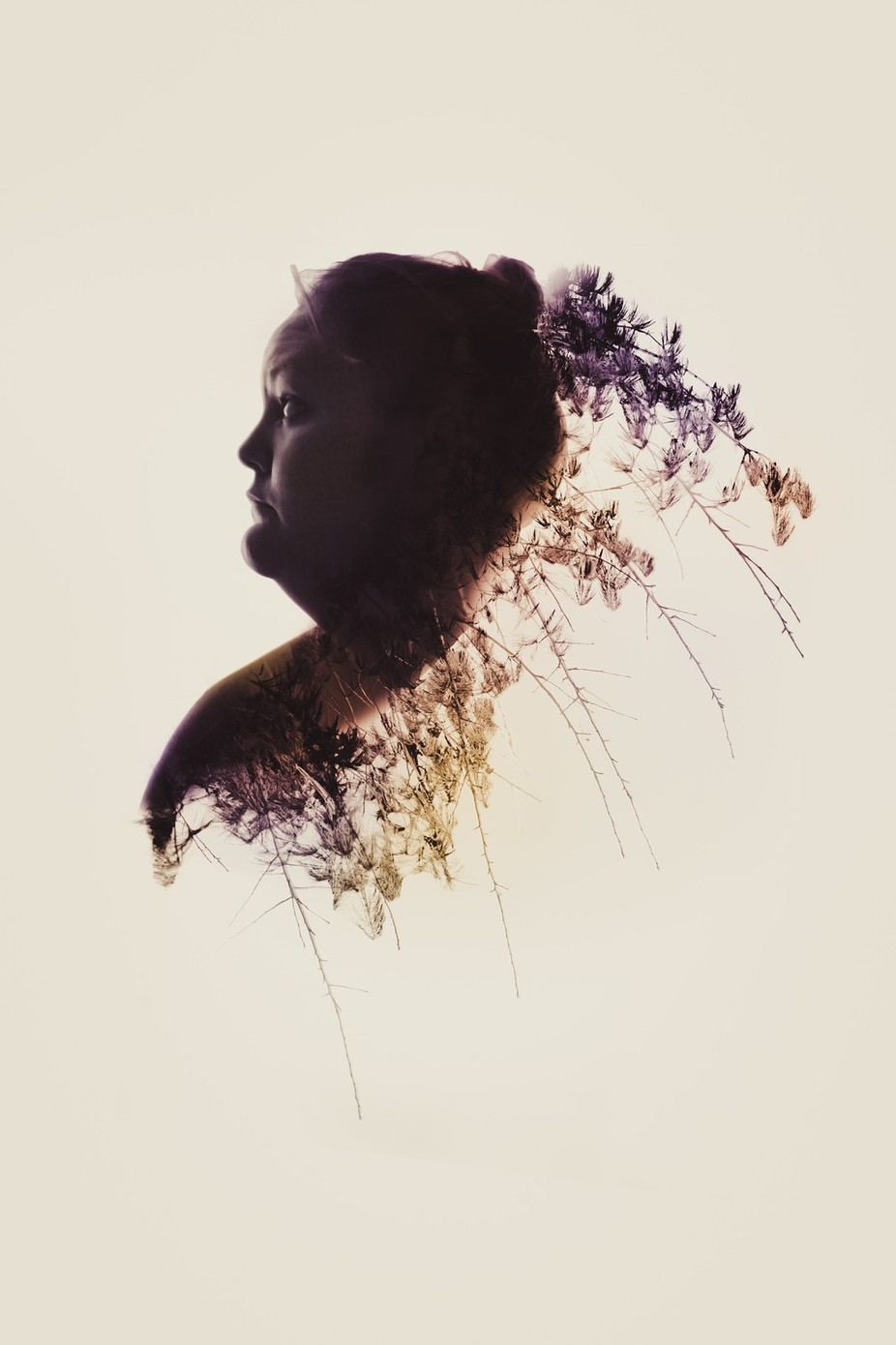 Self Portrait - Double Exposure  by theshawnamiller - Metamorphosis Photo Contest
