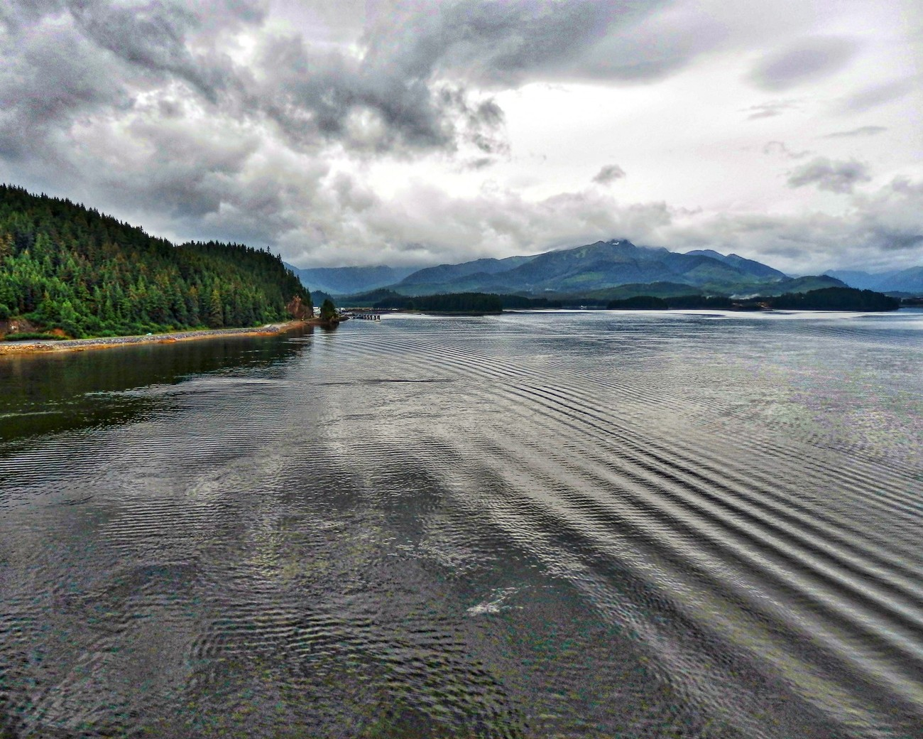 Icy Straits Point, Alaska.  Salmon fishing and whale watching adventures