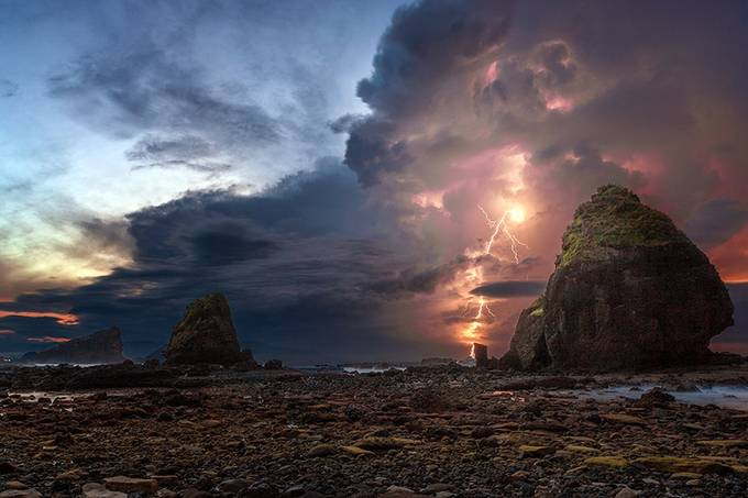 Morning Thunder by Riotan - Pushing Limits Photo Contest