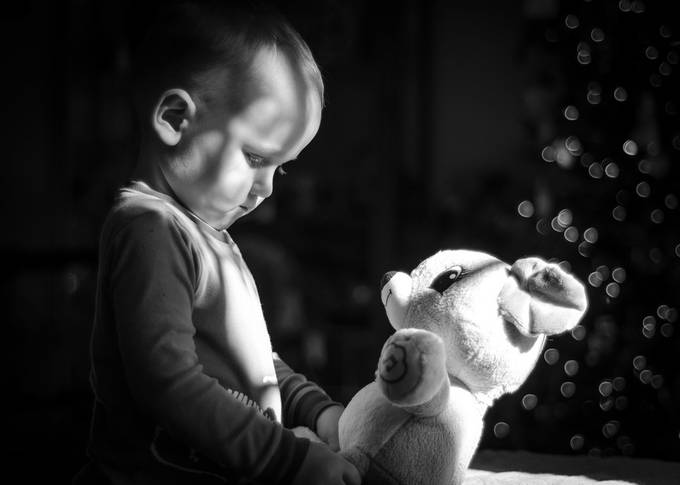 Christmas Morning by natosed - Kids With Props Photo Contest