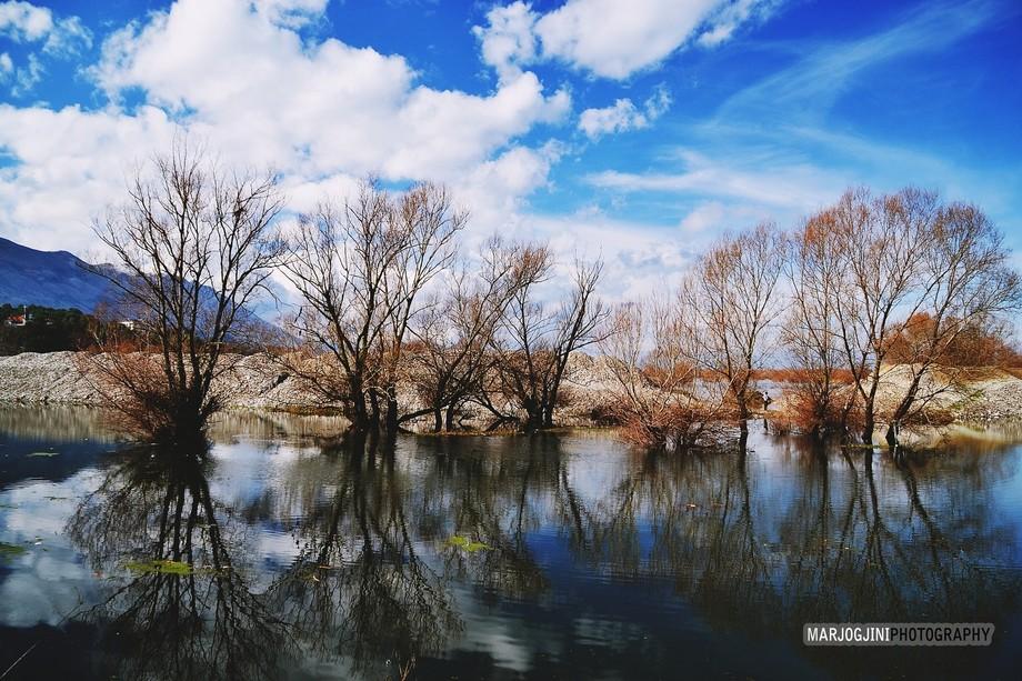 Buna River (Shkodra, ALBANIA)
