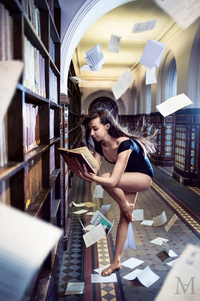 Power of The Book by alexmoldovan - Layers and Composition Photo Contest