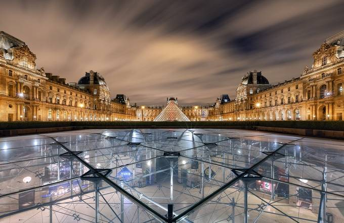 Louvre Museum by sebdows - Paris Photo Contest