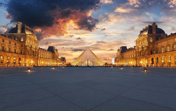 Louvre Sunset by sebdows - My Best Shot Photo Contest Vol 3