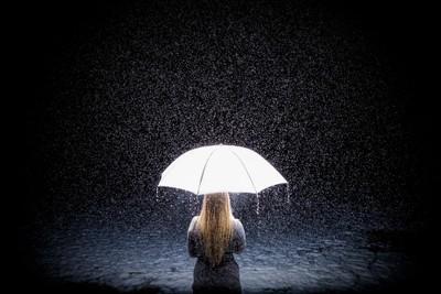 A Girl In The Rain