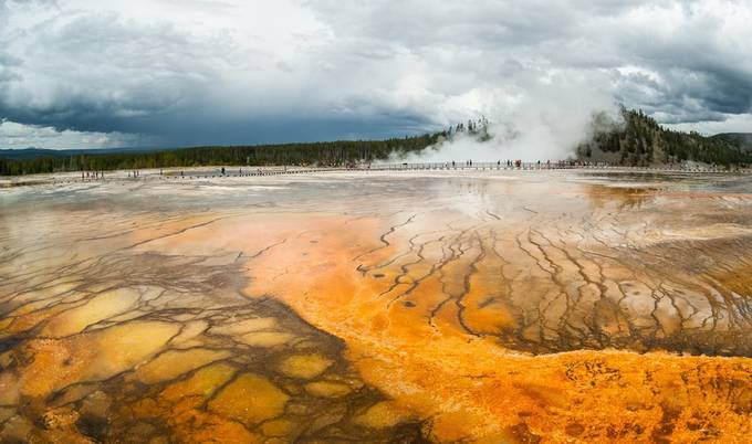 Grand Prismatic Spring /Yellowstone National Park by Dorota_Niezgoda - Creative Travels Photo Contest