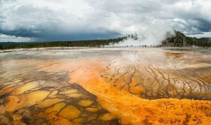 Grand Prismatic Spring /Yellowstone National Park by Dorota_Niezgoda - Creative Travels Photo Contest