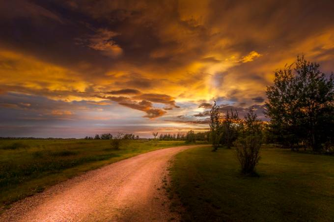 sunset blvd by PaulLavoieImages - Twisted Lines Photo Contest