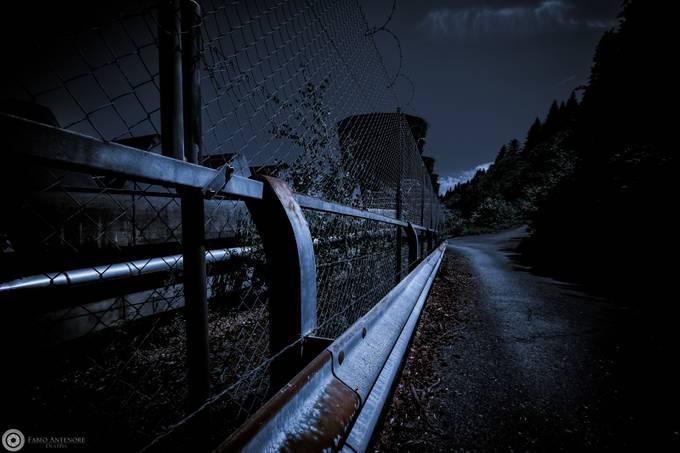 Wärmekraftwerk by dustpixxByFabioAntenore - Rails and Fences Photo Contest