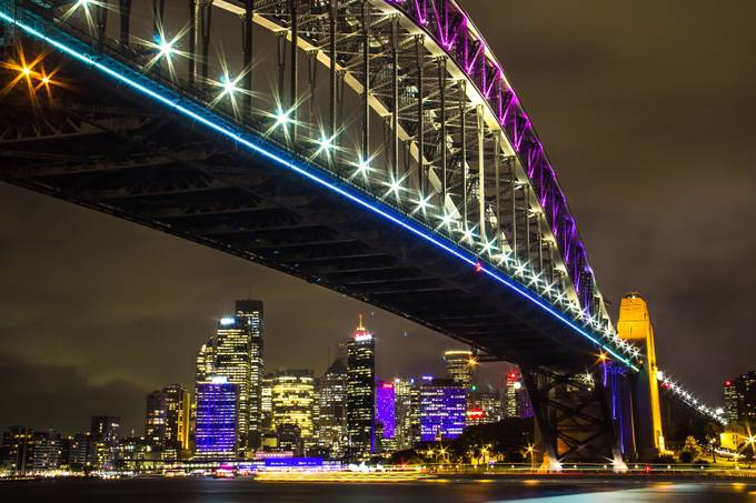 Sydney Harbour Bridge by joe_menggolo - Under The Bridge Photo Contest