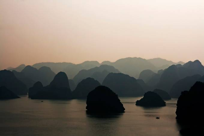 Looking Over Ha Long Bay by GaryCummins
