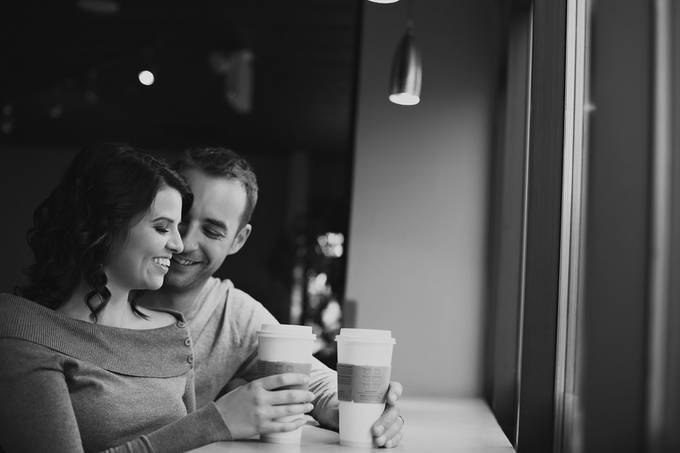 Coffee Shop Love by virginiafrank - Love Is In The Air Photo Contest