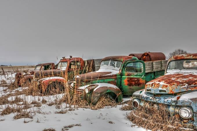 Ford Grave Yard by craigboehm - Trucks Photo Contest
