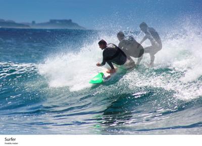 surfer movement